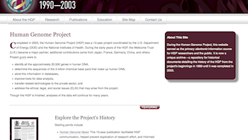 Human Genome Project