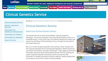 South East Scotland Genetics Service